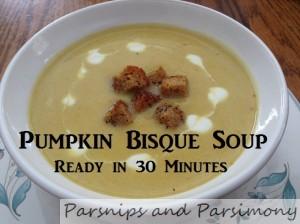 Pumpkin soup title